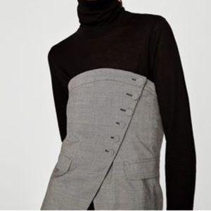 Zara Tops - NWT Authentic Zara Plaid Checked Corset